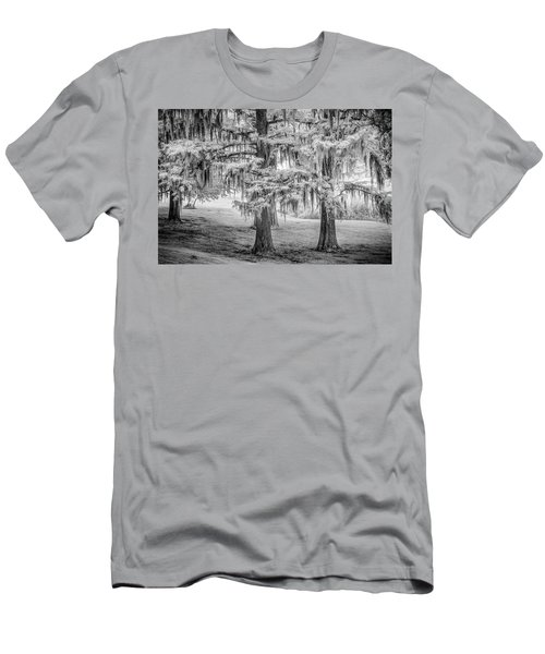 Moss Laden Trees 4132 Men's T-Shirt (Athletic Fit)