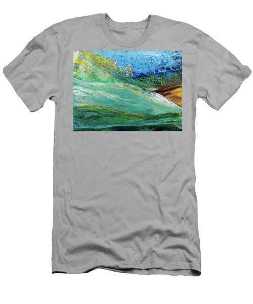 Mother Nature - Landscape View Men's T-Shirt (Athletic Fit)