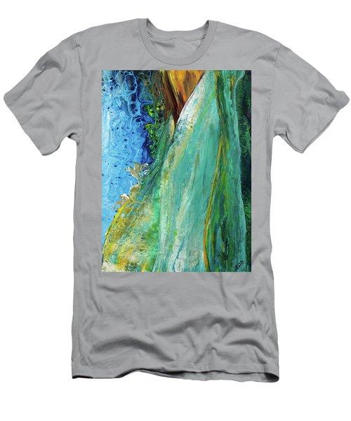 Mother Nature - Portrait View Men's T-Shirt (Athletic Fit)