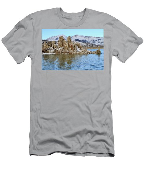 Mount Dana At Dawn  Mono Lake Men's T-Shirt (Athletic Fit)
