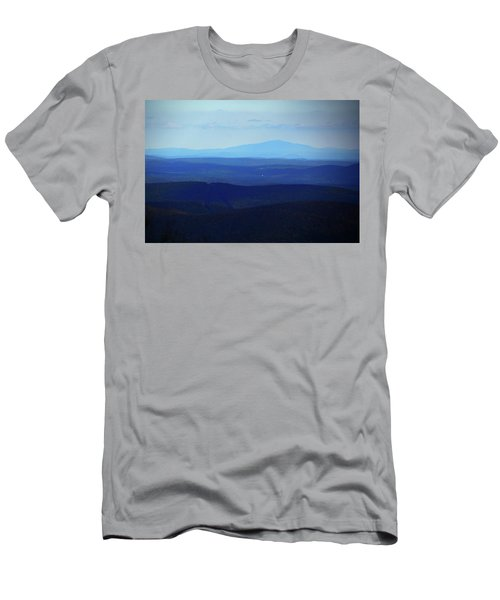 Men's T-Shirt (Athletic Fit) featuring the photograph Mount Monadnock From Mount Greylock by Raymond Salani III