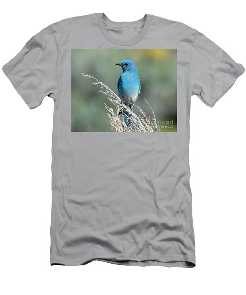 Mountain Blue Profile Men's T-Shirt (Athletic Fit)