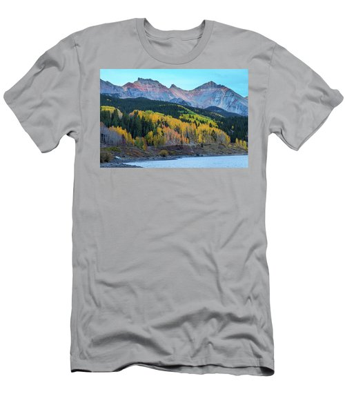 Men's T-Shirt (Athletic Fit) featuring the photograph Mountain Trout Lake Wonder by James BO Insogna