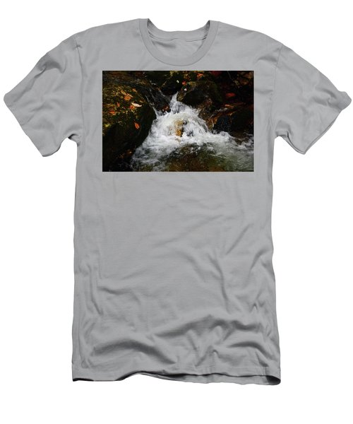 Men's T-Shirt (Athletic Fit) featuring the photograph Mountain Water by Raymond Salani III