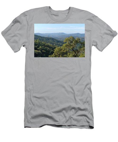 Mountains Of Loule. Serra Do Caldeirao Men's T-Shirt (Athletic Fit)