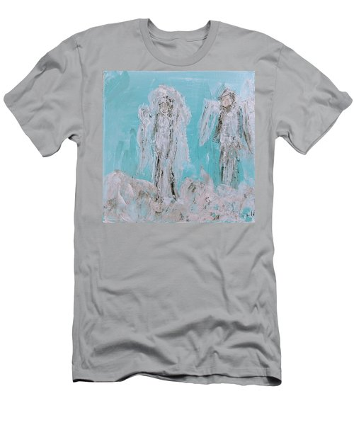 Mr And Mrs Angels Men's T-Shirt (Athletic Fit)