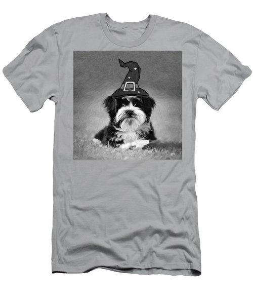 Men's T-Shirt (Athletic Fit) featuring the photograph Mr. Wizard by Sue Collura