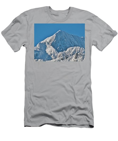 Men's T-Shirt (Athletic Fit) featuring the photograph Mt Cook - New Zealand Alps by Steven Ralser