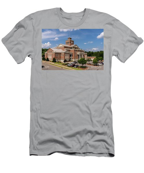 Municipal Building - North Augusta Sc Men's T-Shirt (Athletic Fit)