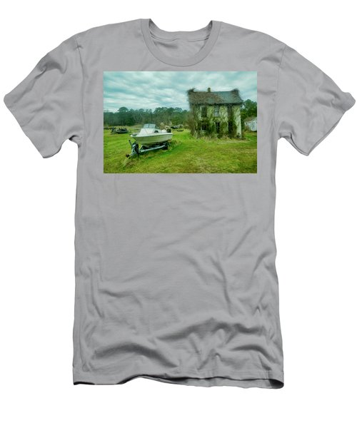 Auntie's Old House Men's T-Shirt (Athletic Fit)