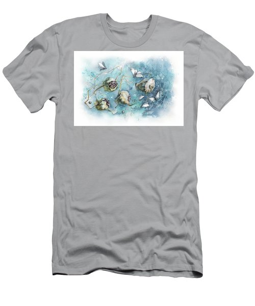 Nature's Fantasy Abstract Men's T-Shirt (Athletic Fit)