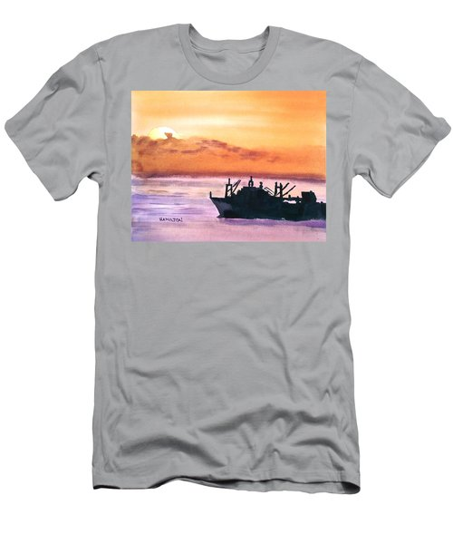 Near Panama Canal Men's T-Shirt (Athletic Fit)