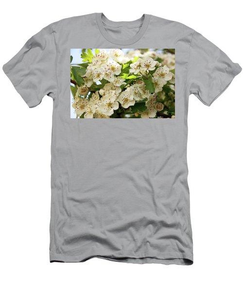 Neston.  Hawthorn Blossom. Men's T-Shirt (Athletic Fit)