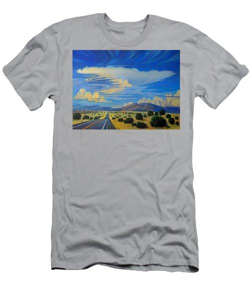New Mexico Cloud Patterns Men's T-Shirt (Athletic Fit)