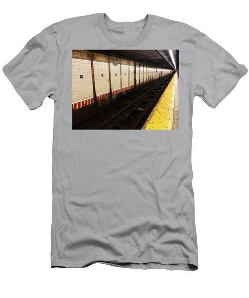 New York City Subway Line Men's T-Shirt (Athletic Fit)