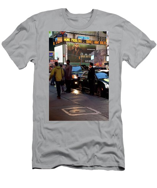 Men's T-Shirt (Athletic Fit) featuring the photograph New York, New York 29 by Ron Cline