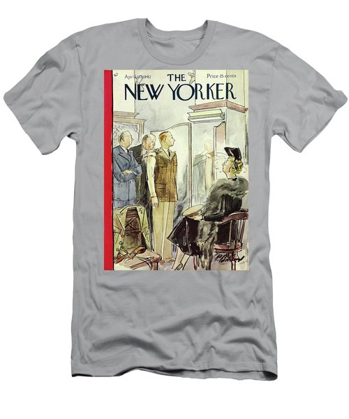 New Yorker April 18th 1942 Men's T-Shirt (Athletic Fit)