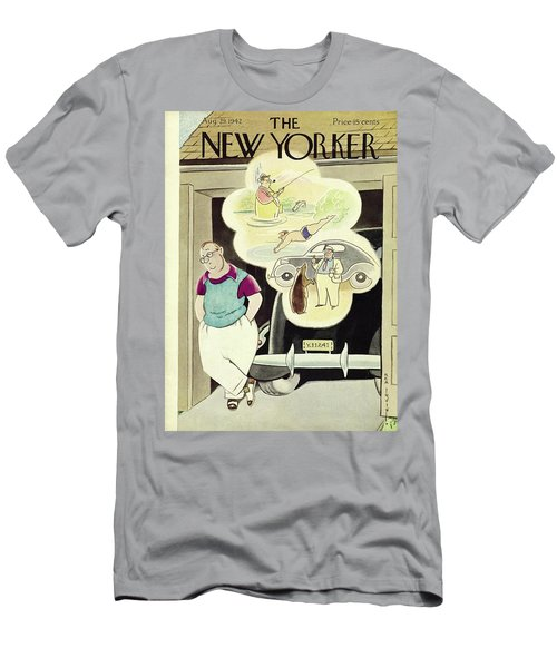 New Yorker August 29th 1942 Men's T-Shirt (Athletic Fit)