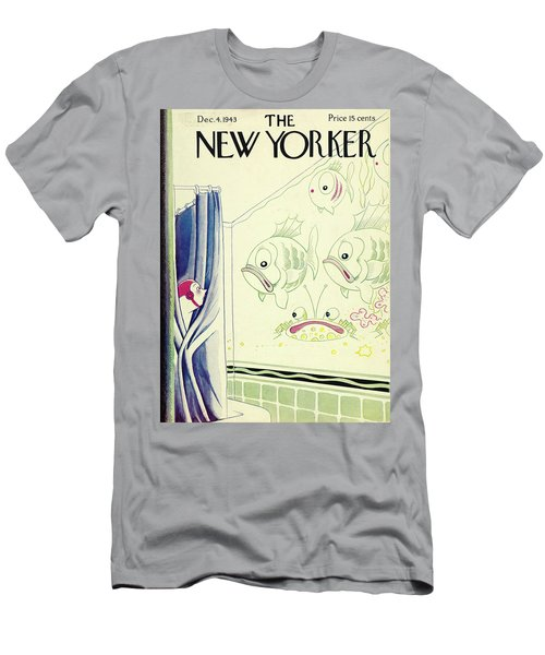 New Yorker December 4th 1943 Men's T-Shirt (Athletic Fit)