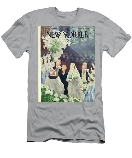 New Yorker March 20th 1943 Men's T-Shirt (Athletic Fit)