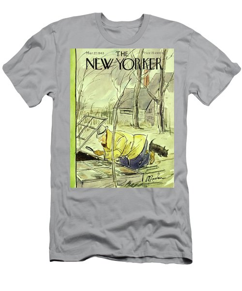 New Yorker March 27th 1943 Men's T-Shirt (Athletic Fit)