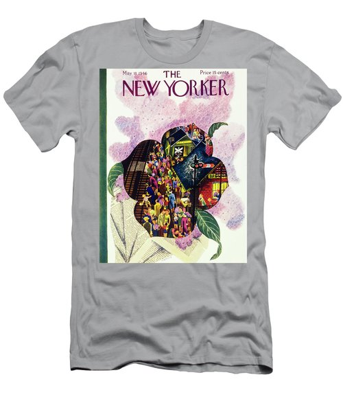New Yorker May 18th 1946 Men's T-Shirt (Athletic Fit)
