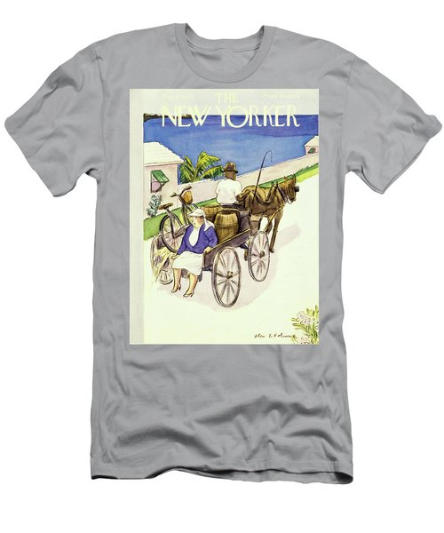New Yorker May 4th 1946 Men's T-Shirt (Athletic Fit)