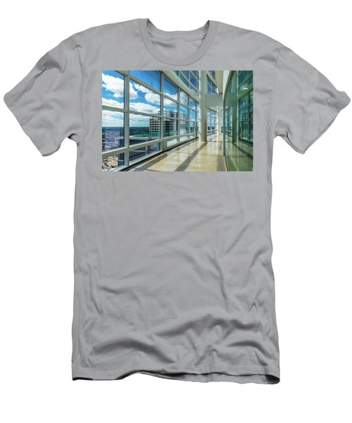 Men's T-Shirt (Athletic Fit) featuring the photograph Nm Tower View by Randy Scherkenbach