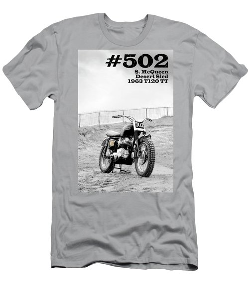 No 502 Mcqueen Desert Sled Men's T-Shirt (Athletic Fit)