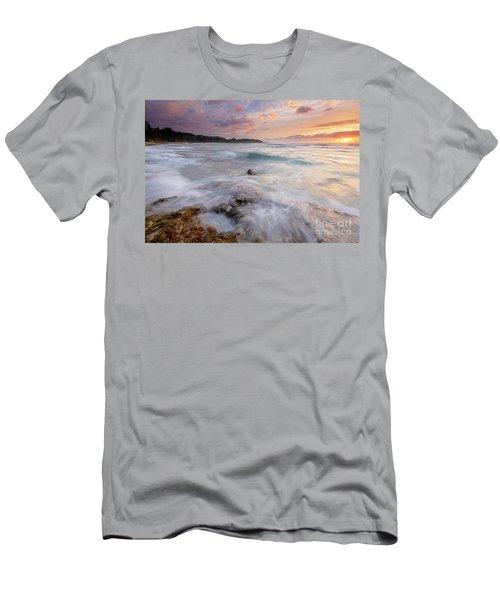 North Shore Sunset Surge Men's T-Shirt (Athletic Fit)