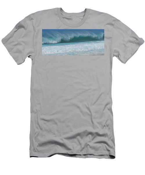 North Shore Surf's Up Men's T-Shirt (Athletic Fit)