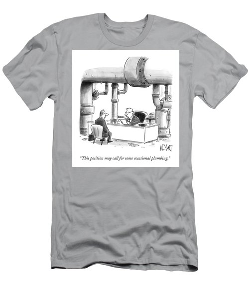 Occasional Plumbing Men's T-Shirt (Athletic Fit)