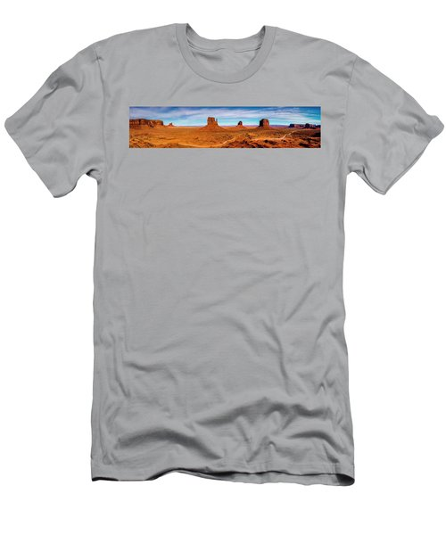 Men's T-Shirt (Athletic Fit) featuring the photograph Ocean Front Property In Arizona by David Morefield