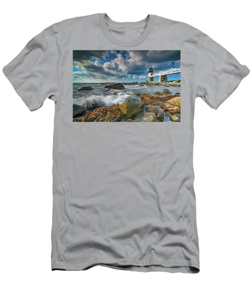 Men's T-Shirt (Athletic Fit) featuring the photograph October Morning At Marshall Point by Rick Berk