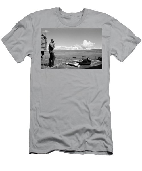 Office Of The Poet Men's T-Shirt (Athletic Fit)