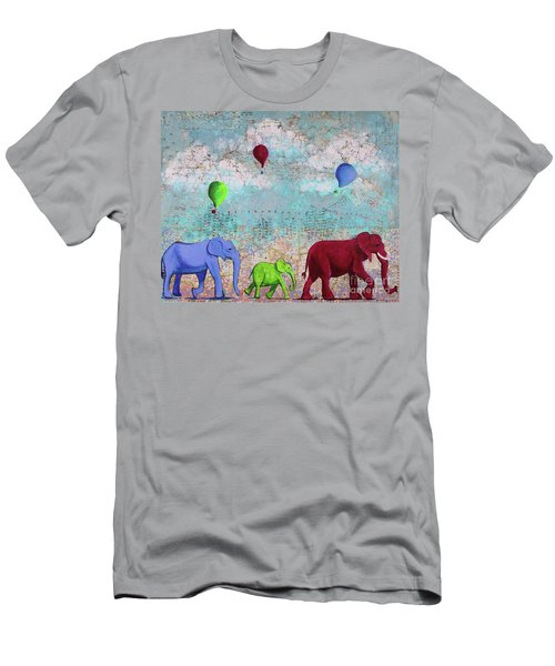 Oh The Places You'll Go Men's T-Shirt (Athletic Fit)