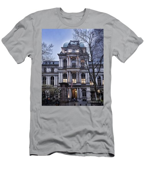 Old City Hall, Boston Men's T-Shirt (Athletic Fit)
