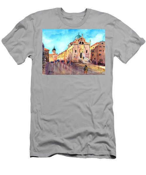 Old City Of Dubrovnik Men's T-Shirt (Athletic Fit)