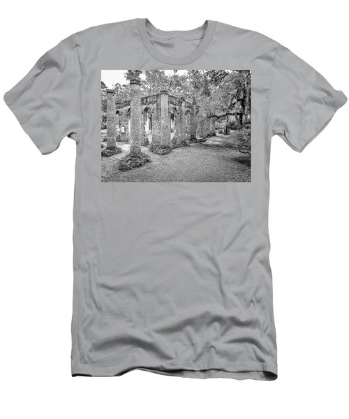 Old Sheldon Church - Angled Men's T-Shirt (Athletic Fit)
