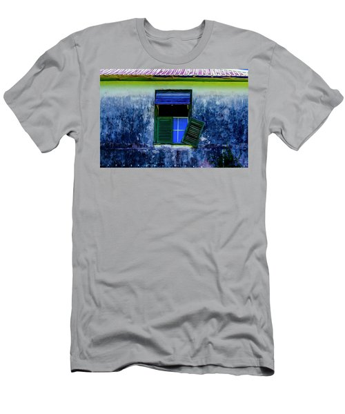 Men's T-Shirt (Athletic Fit) featuring the photograph Old Window 3 by Stuart Manning