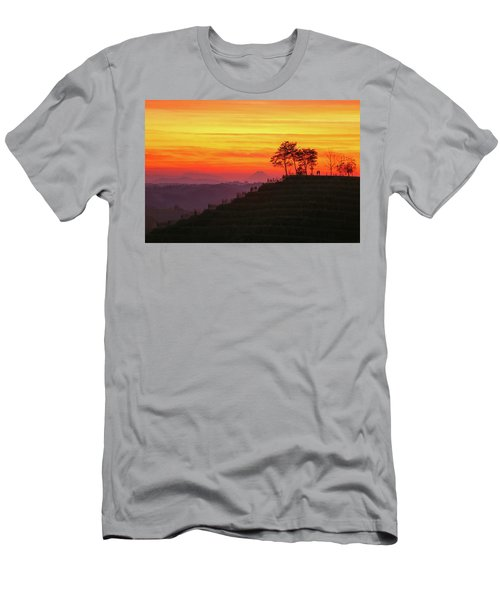 Men's T-Shirt (Athletic Fit) featuring the photograph On The Viewpoint by Davor Zerjav