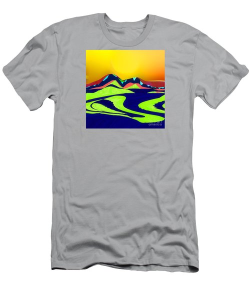 On The Wings Of  The Sun No. 3 Men's T-Shirt (Athletic Fit)
