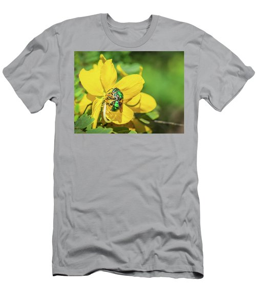 Orchard Bee Men's T-Shirt (Athletic Fit)
