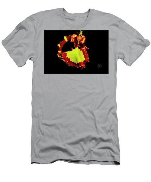 Orchid Study Nine Men's T-Shirt (Athletic Fit)