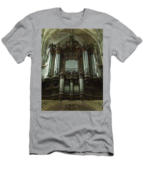 Men's T-Shirt (Athletic Fit) featuring the photograph Organ by JLowPhotos