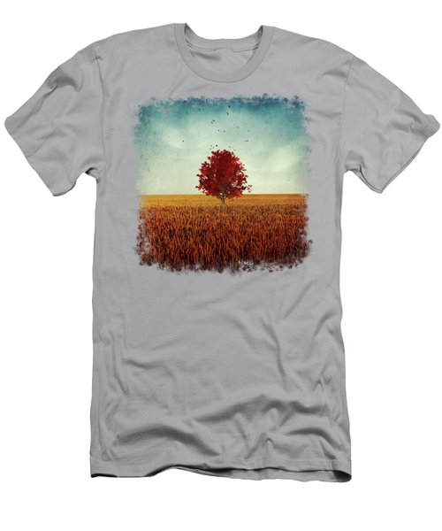 Other - Red Tree Men's T-Shirt (Athletic Fit)