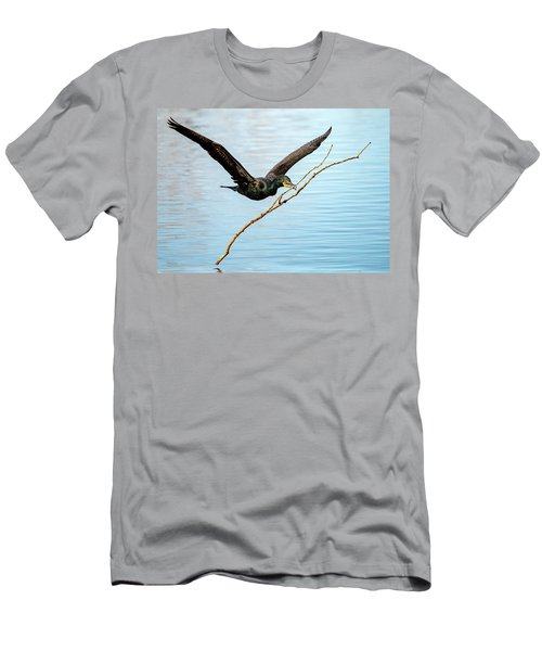 Over-achieving Cormorant Men's T-Shirt (Athletic Fit)