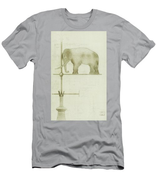 Pachyderm House, Philadelphia Zoo, Detail Of Weather Vane Men's T-Shirt (Athletic Fit)