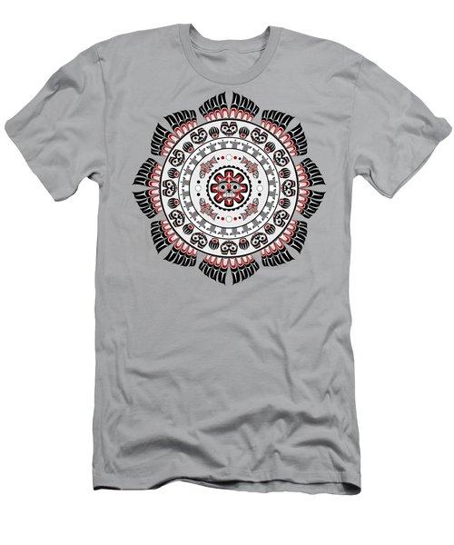 Pacific Northwest Native American Art Mandala Men's T-Shirt (Athletic Fit)