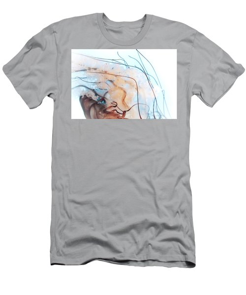 Pacific Sea Nettle Jellyfish - Ruffled Tentacles Men's T-Shirt (Athletic Fit)